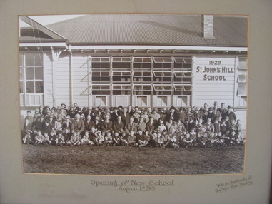 School History, St John's Hill School